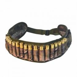 Tactical belt - gun bullets holder - 28 rounds - 12/20 gauge - for hunting