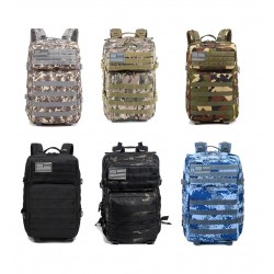 Tactical / military backpack - camouflage - waterproof - large capacity - 50L