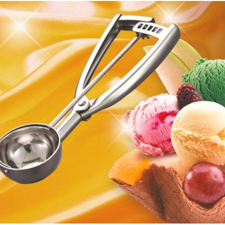 Ice Cream Mash Potato Scoop Spoon Stainless Steel