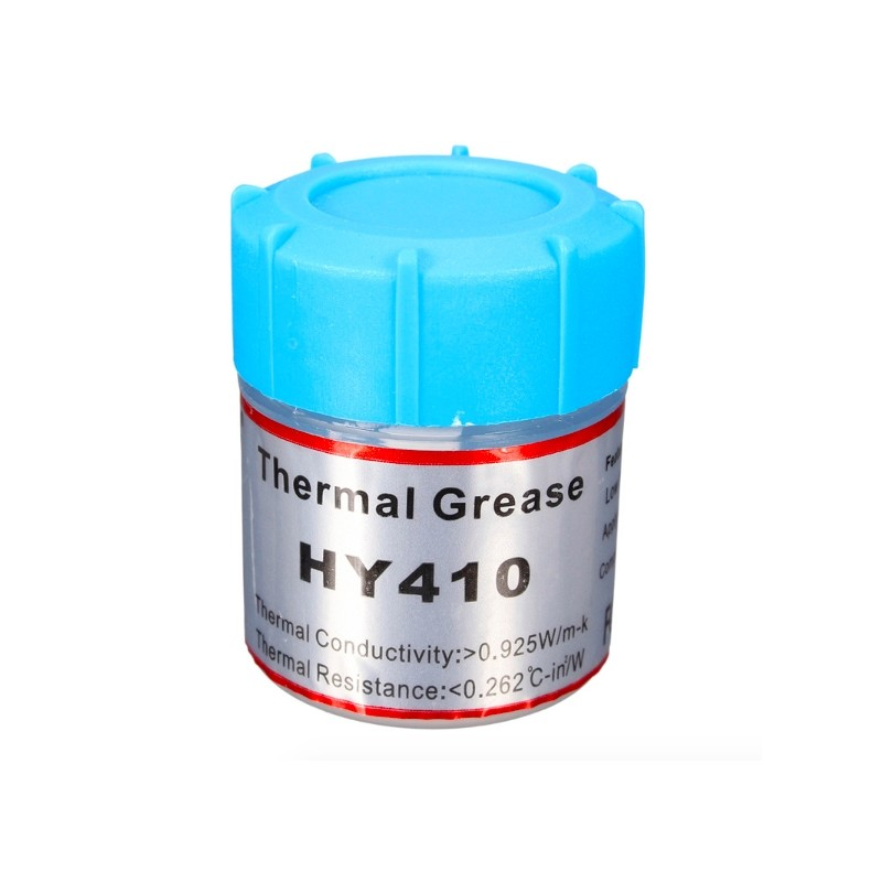 High Quality HY410 10g White Thermal Conductive Grease Paste Compound Silicone For CPU GPU Chipset Cooling Silicone Grease
