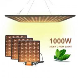 Indoor led lighting - 1000W / 3500K - for growing plants / flowers - heating