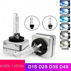 Car headlight - Xenon HID bulb - D1R / D1S / D2S / D3S / D4S / D4R / D2R - 12V / 35W - 2 pieces