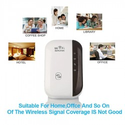 Repetidor signal Wireless-N Wifi 300Mbps