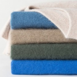 Men's soft sweater - mink cashmere