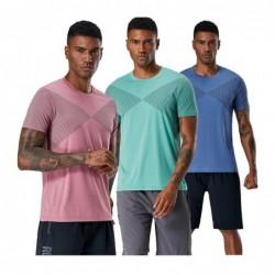 Men's sport t-shirt - quick drying - elastic - compression