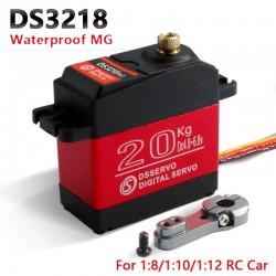 DS3218 / PRO - high speed - digital / baja servo - 20KG/.09S for 1/8 1/10 scale RC cars - waterproof