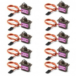MG90S / SG90 servo - metal gear - 9g - for RC helicopter / plane / boat / car / robot