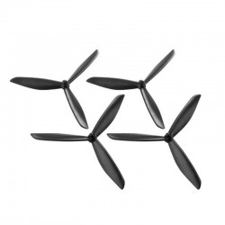3-Blatt Propeller - für Hubsan H501S X4 RC Drone Quadcopter FPV - 4 Stück