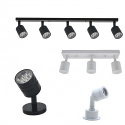 Moderne LED-Wandleuchte - drehbar - 1 / 3 / 5 Köpfe