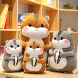 Hamster shaped pillow - plush toy