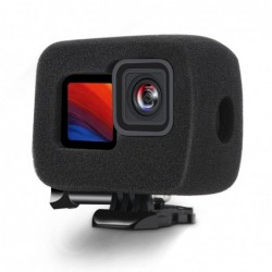 Foam windproof shield - noise reduction - protective case - for GoPro Hero 9 Black