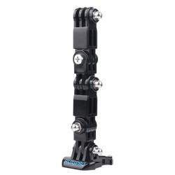 Windproof case - helmet mount - buckle - adapter - pivot arm - for GoPro Hero 9/8/7/6/5 Black