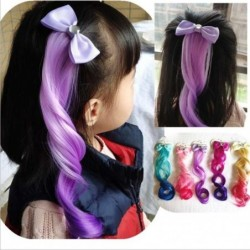 Child Cute Bow Crystal Elastic Hair Band Rubber Band Hair Accessories Kids Wig Headband Girls Twist Braid Rope Headdress