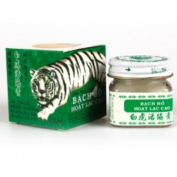 2pcs Vietnam 20g White Tiger Balm For Headache Toothache Stomachache Essential Balm