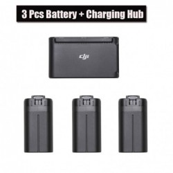 3pcs Original DJI Mavic Mini Drone Battery 30 minutes flight time +Two-Way Battery Charging Hub for DJI Mavic Drone Accessories
