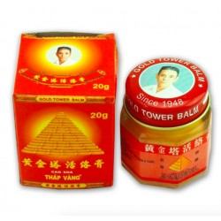 Original Gold Tower Balm White Tiger