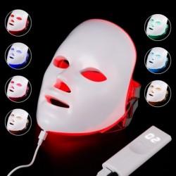 Beauty face mask - 7 colors LED - skin rejuvenation - anti acne - whitening - anti wrinkle - phototherapy