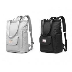 Stylish handbag - laptop backpack - with USB charging port - waterproof