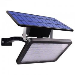 Outdoor-Gartenwandleuchte - wasserdichte Solarlampe - verstellbar - 48 LED