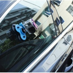 GoPro Low Angle Removable Triple Suction Car Cup Mount