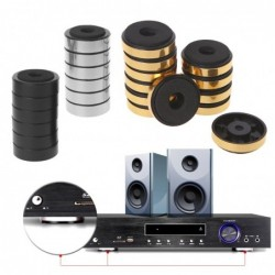 Shock absorption damping feet pad - for speakers / amplifier - 12 pieces