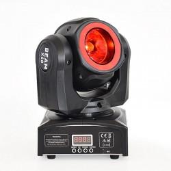 Mini LED beam - laser light - moving head - DJ / stage light - 60W - RGBW - DMX