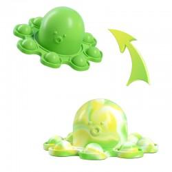 Pop It - anti-stress toy - push bubble - reversible octopus