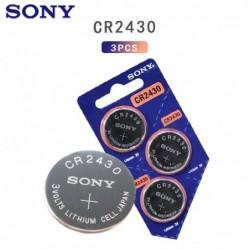 Original Sony Knopf-Lithiumbatterie - CR2430 - 3V - 3 Stück