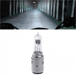 Motorcycle headlight bulb - halogen / Xenon - white - DC 12V - 35W - BA20D