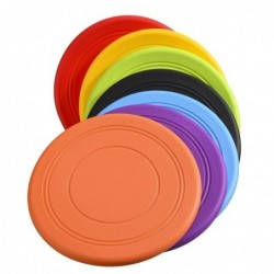 Soft silicone flying saucer - non-slip - dogs training toy
