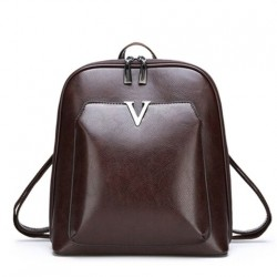 Women Vintage Backpack Brand Luxurious Leather Women's Shoulder Bag Large Capacity School Bag For Girl Leisure Backpac