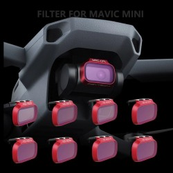 Camera filter - for Mavic Mini Drone - ND8 / ND16 / ND32 / ND64 - 4 pieces set