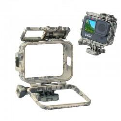 Protective frame case - long screw - base mount - for GoPro Hero 9 Black
