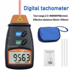 Digitaler Lasertachometer - Geschwindigkeitsmesser - berührungslos - Drehzahl