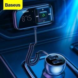 Baseus - FM transmitter - Bluetooth - USB car charger - AUX - handsfree - MP3 player
