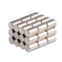 20Pcs Small Round Neodymium Magnet Dia. 4mm Strong Circular Disc Magnet Powerful Magnetic Magnet Thickness 1mm 1.5mm-6mm