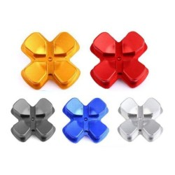 D-pad buttons - metal - for PS4 Dualshock 4 Controller