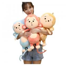Cute monkey - plush toy - pillow
