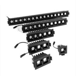 LED-Deckenleuchte - Einbaustreifen - CREE - COB - Indoor - dimmbar - 2W - 30W