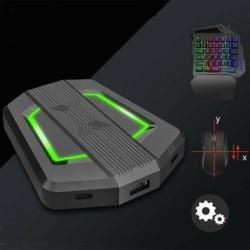 Gaming-Gamepad - Audio-Tastatur - Mauskonverter - Adapter - für PS4 / PS3 / Xbox One / Xbox 360 / N-Switch-Konsole