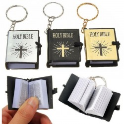 Mini Holy Bible book - keychain