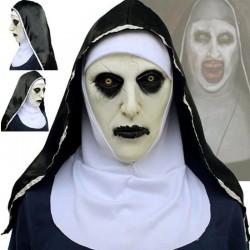 Monja aterradora - máscara de látex - Halloween - mascaradas