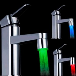 Led Water Faucet Tap Head 7 Colors*