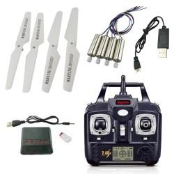 Syma X5 X5C X5C-1 RC Quadcopter - USB-Kabel - Propeller - Ladegerät - Motor - Fernbedienung - Ersatzteile
