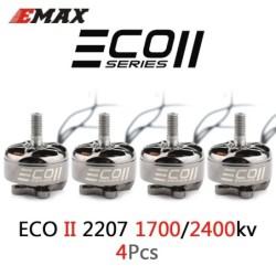 Verbesserte Emax ECO II Serie - 1700KV / 2400KV - 3-6S - bürstenloser Motor - 4mm Lagerwelle - für RC Drone Quadcopter FPV