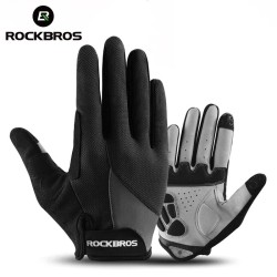 Windproof / thermal cycling gloves - touch screen fingertips - unisex