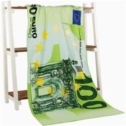 Large bath / beach towel - 100 US / 100 - 500 EU - US / UK flag