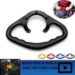 Motorcycle Passenger Handgrips Hand Grip Tank Grab Bar Handle Armrest For SUZUKI GSXR GSX-S GSX-R 600 750 1000 1300 Hayabusa