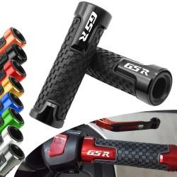 """For Suzuki GSR400 GSR600 GSR750 GSR 400 600 750 7/8"""" Motorcycle Accessories CNC Aluminum Rubber Handlebar Grips Hand Bar Grip"""
