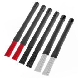 Jazz Drumsticks - Nylonbürsten - einziehbar - mit Gummigriff - 23cm - 2 Stück